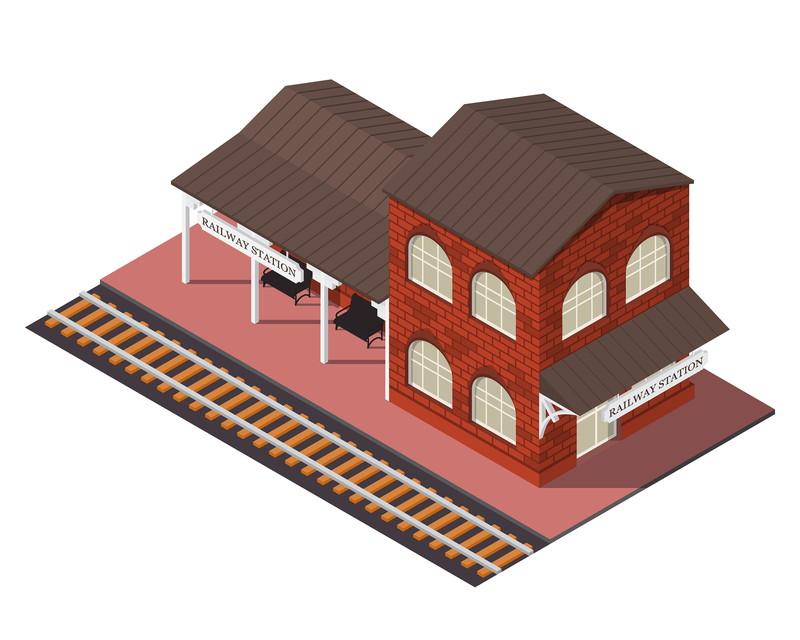 鉄道レイアウト